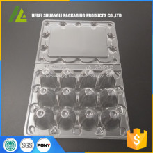 transparent plastic 12pc quail tray