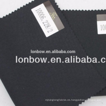 Filarte Super110 Fine calidad Italia diseño de tela de lana de lana peinada en stock