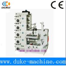 Máquinas de impressão flexográfica de alta velocidade para etiquetas / Impressoras de etiquetas flexográficas (RY-320)