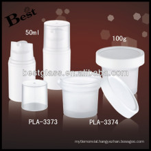 50ml plastic soap bubble bottle with pp cap, cosmetics bottles OEM service, free sample