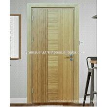 Fábrica de turquesa LUCCART fabricou uma porta interior de bambu naturalmente revestida