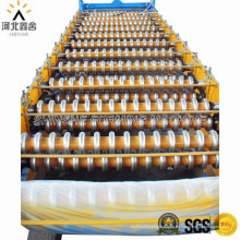 Maquinaria para la fabricación de láminas para techos con revestimiento de color