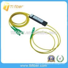 2-Wege-Mini-Kunststoff-Box SC APC FBT Lichtwellenleiter-Splitter