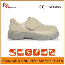 Goodyear Chaussures de Travail en Cuir Action Blanc RS807