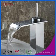 Fyeer Durable Single Lever Handle Bathroom Waterfall Faucet
