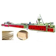 Linha de produção de placa de espuma WPC