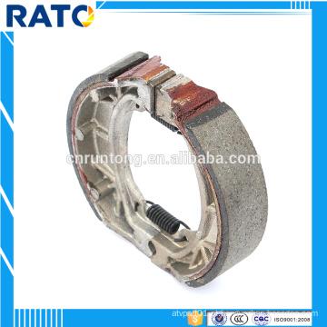 Conjunto de sapato de freio de bateria de moto aceitável OEM
