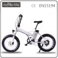 Venda quente do tipo MOTORLIFE / OEM 36v 250w bicicleta gorda de 20 polegadas na bicicleta elétrica