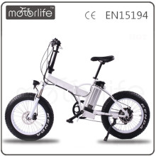 MOTORLIFE/OEM brand hot sale 36v 250w 20 inch fat bike in electric bicycle