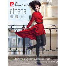 Pierre Cardin Athena Cotton Pantyhose grueso, medias de las mujeres, Hosiery, 60 Den