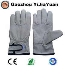 Cow Grain Leather Industrial Work Brazing Gloves