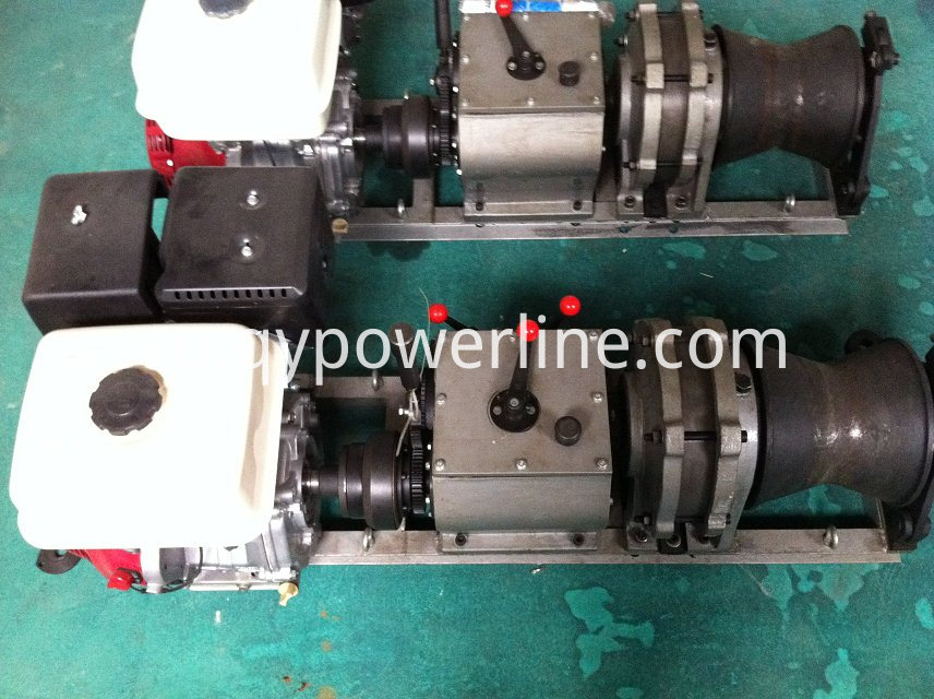 Fast Speed Petrol Motorized Winch
