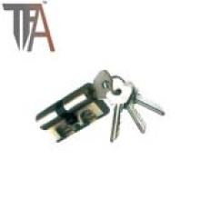Cilindro de bloqueio de latão aberto de dois lados TF 8016