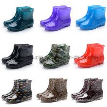 OEM Rubber Winter Suede Skidproof Warm Gardener Fishing Rain Boot