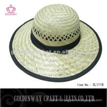 fashion round top straw hat