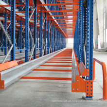 CE certificate pallet rack suitable for radio shuttle