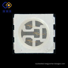 surface mount plcc-6 0.2w 5050 blue smd led chip for strip