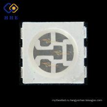 поверхностного монтажа корпусе plcc-6 0,2 Вт 5050 синий SMD чип Сид для прокладки