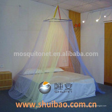 SHUIBAO quadrado telhado quatro cores cama redonda Canopy