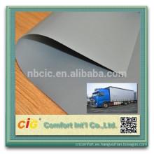 PVC recubierto de lona/pvc recubierto de malla de lona/pvc poliester lona para camión tienda claro