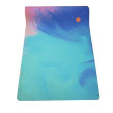 OEM Durable Private Label Organic Custom printed washable suede yoga matt