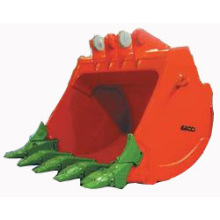 Mining Hoe Buckets for Hitachi, Komatsu, Caterpillar Excavators