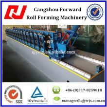 QJ C Steel Purlin Roll Forming Machine para Lip Channel