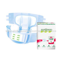 Cheap/Senior/Thick/Cotton/Nateen Brand/Cute Daily Disposable Adult Diaper for Hospitals, OEM/ODM
