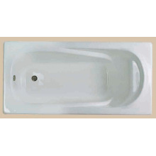 Simple Style Enamel Cast Iron Bathtub
