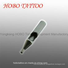 Pontas de aço inoxidável curtas não descartáveis duráveis da tatuagem