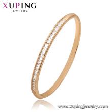 52173 Xuping China Wholesale banhado a ouro pulseira de pedras preciosas para as mulheres