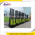 Walkie Electric Stacker powred lifter pallet stacker 1ton 1.2ton 1.5ton 2ton 1.6m 3m 4.5m 5m