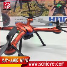 JJRC H11D 5.8G FPV 2.0MP HD cámara 2.4G 4CH 6 ejes sin cabeza rc drone SJY-H11D