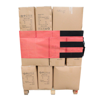 Red Reusable Pallet Wraps with Hook and Loop