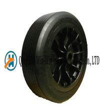 Ruedas de la carretilla de rueda de goma plana libre de 12 pulgadas