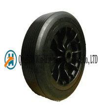 12 Inch Flat Free Rubber Wheel Barrow Wheels