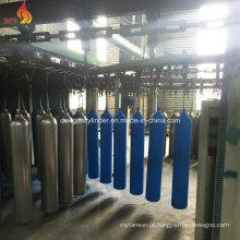 Fábrica da pintura Cilindro do gás do oxigênio 40liter