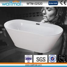 Verlieben Sie sich in weißer Qualität Acryl-Einweichen Badewanne (WTM-02520)