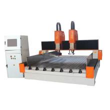 Fresadora de piedra CNC de doble cabezal