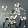 U Shape Glass Candlestick Crystal Centerpiece For Wedding Favors