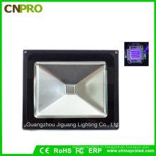 Lumière d'inondation UV UV IP65 de 50W ultra violette avec la prise d'US ou la prise européenne