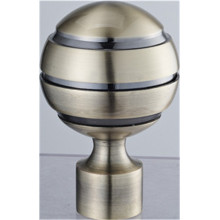 The Pattern Ball Curtain Rod Finial