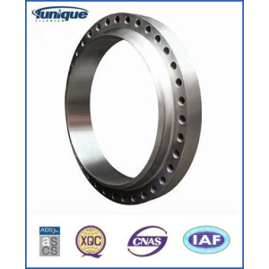 Personalizada Precision Machined Titanium Forged Flange