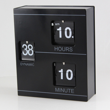 Black Book Flip Clock para decorar
