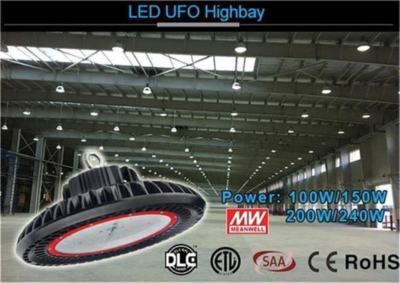 5000K Color 13000lm 100W LED UFO Highbay Light