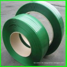 19 * 0.8mm grünes Haustier-Umreifungs-Plastikbügel
