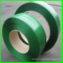 19 * 0.8mm Green Strapping sangle en plastique