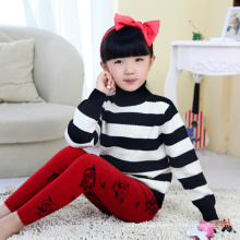 cheap autumn thick child 100% wool knitting wooven sweaters