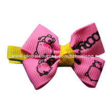 Children's Hair Accessories, 100% Polyester, Customized Sizes and Colors Available