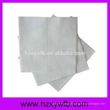 One Ply Airlaid Serviettes en gros Serviettes en papier Serviette Hemstitch